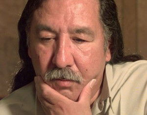 Leonard Peltier.  AP photo.
