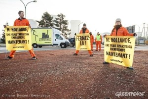 Photo by Greenpeace France - March 5, 2014