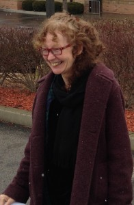 Photo by Buddy Bell, taken of Kathy Kelly on January 23, shortly before she began her 3 month prison sentence