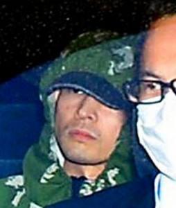 Yasuo Yamamoto in custody. Photo © Noboru Tomura, asahi.com