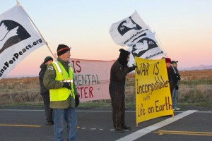 Occupy Beale AFB photo